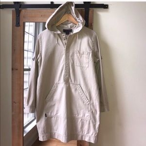 Ralph Lauren Khaki Tunic with hood